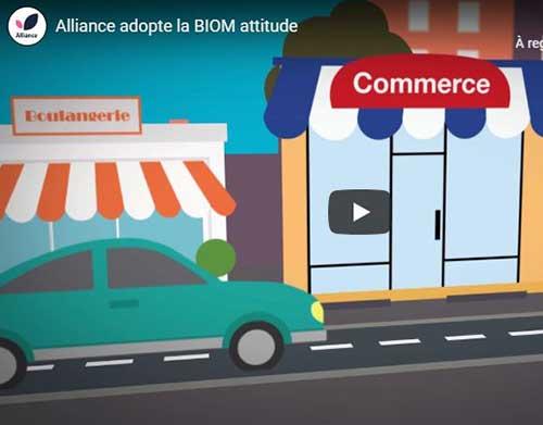 Alliance, labellisée BIOM