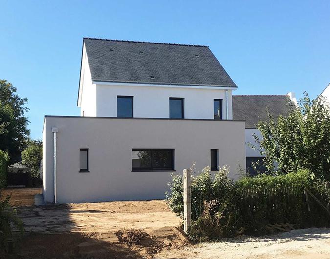 Maison traditionnelle à Guérande sur deux niveaux