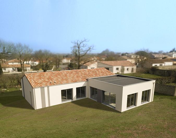Maison traditionnelle optimisée PMR à La Bruffière